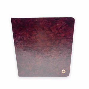 Franklin Covey Classic  Burgundy Open Ring Binder